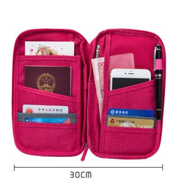 パスポートケース 旅行 マルチケース お薬手帳 診察券 保険証 大容量 トラベルポーチ おしゃれ チケット 貴重品|fk-store|05