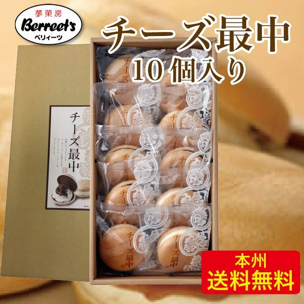 チーズ最中 10個セット 夢菓房 Berreet`s 栃木県産品 日光市FN041