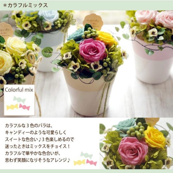 プリザーブドフラワー フラワースフレ NEWスタイル 誕生日 記念日 ギフト|fkjiyugaoka|05
