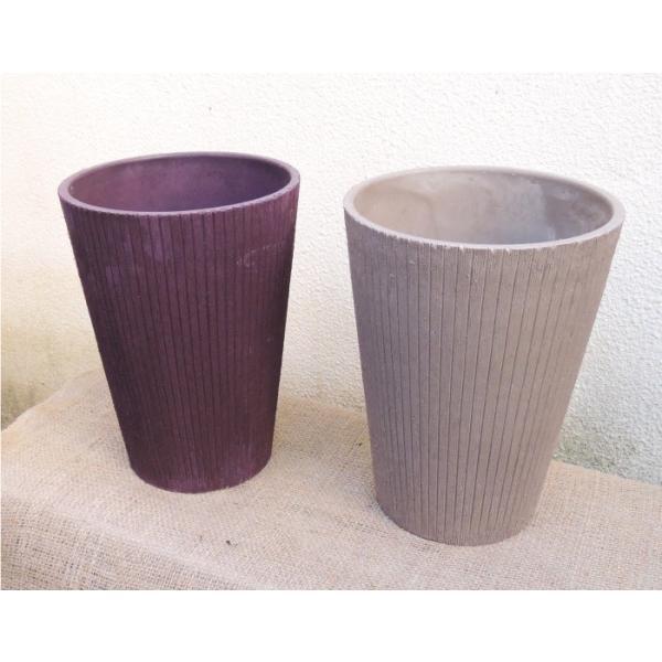 ストレリチア レギネ ソフトプラスチックプランター 選べる2カラー ベージュ/パープル|fkjiyugaoka|04
