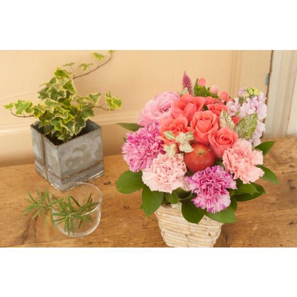 ギフト お祝い 即日発送 花 バラのアレンジメント 生花 フラワーギフト 誕生日 プレゼント|fkjiyugaoka|16