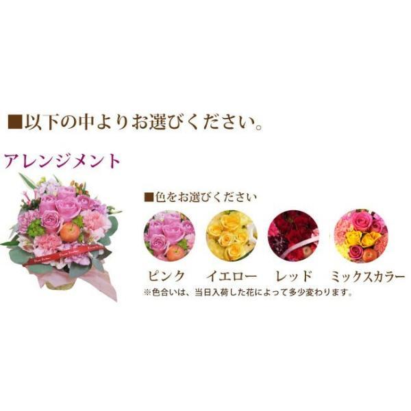 ギフト お祝い 即日発送 花 バラのアレンジメント 生花 フラワーギフト 誕生日 プレゼント|fkjiyugaoka|03