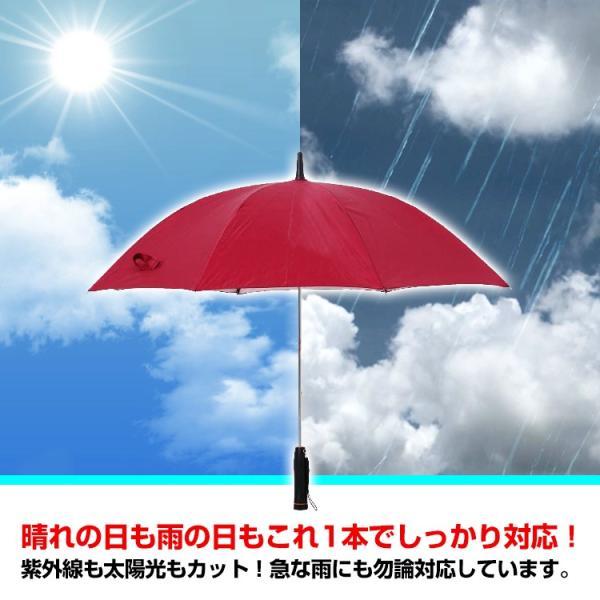 かさ 日傘 扇風機 晴雨兼用 UVカット 長傘 雨傘 遮光 紫外線対策 熱中症対策 メンズ レディース ネット付き 涼しい ny194 fkstyle 06