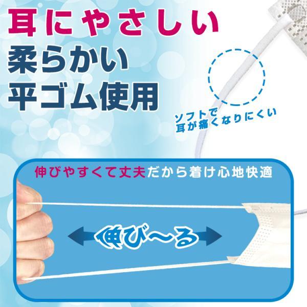即納 マスク 在庫あり 100枚 箱 使い捨て 不織布 BFE 99%以上 CE FDA 認証済み 男女兼用 ウイルス対策 花粉 飛沫感染対策 日本国内発送 ny264-100 fkstyle 12