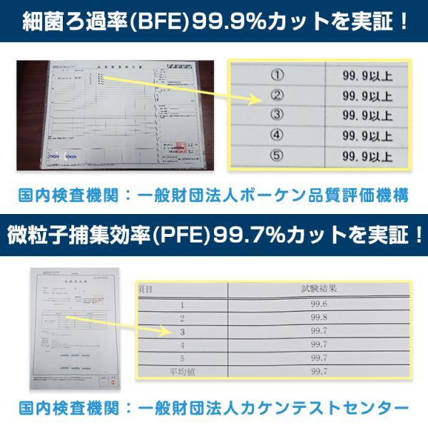 即納 マスク 在庫あり 100枚 箱 使い捨て 不織布 BFE 99%以上 CE FDA 認証済み 男女兼用 ウイルス対策 花粉 飛沫感染対策 日本国内発送 ny264-100 fkstyle 05