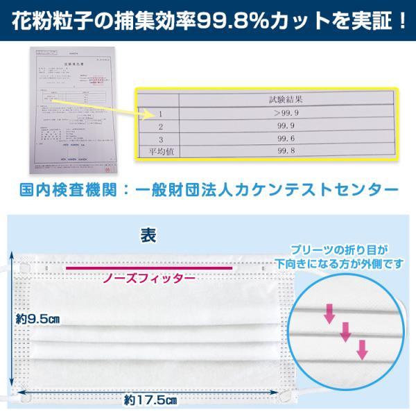 即納 マスク 在庫あり 100枚 箱 使い捨て 不織布 BFE 99%以上 CE FDA 認証済み 男女兼用 ウイルス対策 花粉 飛沫感染対策 日本国内発送 ny264-100 fkstyle 06