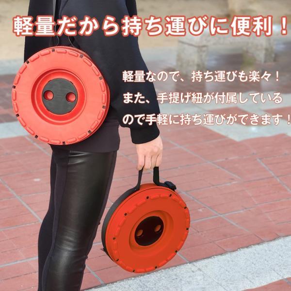 アウトドアチェア 椅子 イス 踏み台 手持ち 伸縮式 コンパクト 折りたたみ 耐荷重 100kg 運動会 od379|fkstyle|04