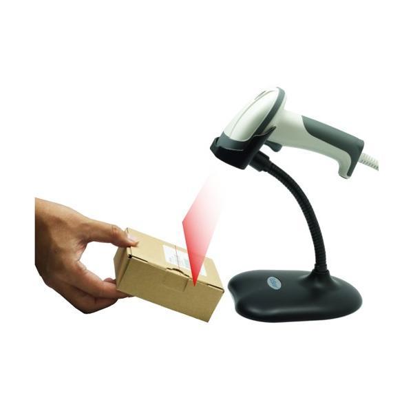 バイカラ―LED+レーザー光源 ロングレンジ バーコードリーダー Bi-2000 USB接続 +スタンドセット fksystem 04
