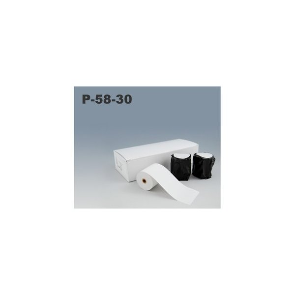 三栄電機 BL2-58専用ロール紙(10巻入) P-58-30 【幅58mm×外径50mm×内径9mm】|fksystem
