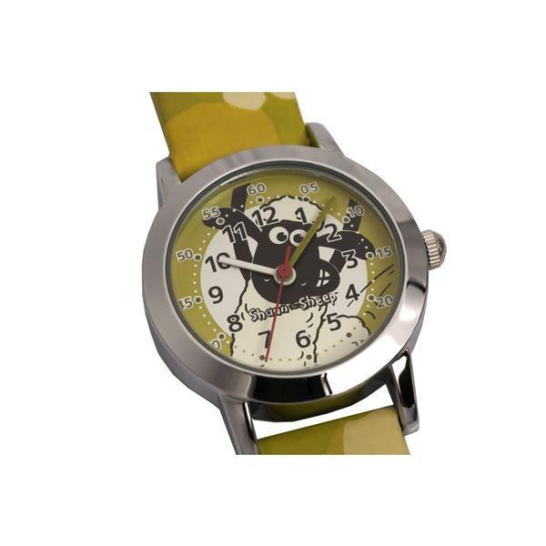 Shaun the Sheep(ひつじのショーン) キッズ腕時計 ショーンデザイン ガールズ/ボーイズ グリーン SS101-01