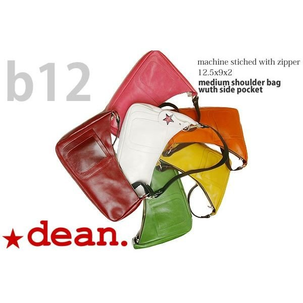 dean(ディーン) medium shoulder ハンドバッグ 白