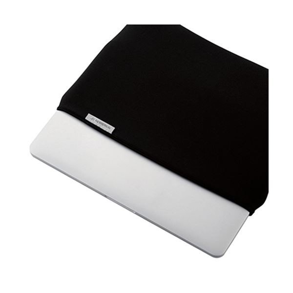 (まとめ)エレコム MacBook Pro13インチ用インナーケース ブラック BM-IBNPM1613BK 1個〔×3セット〕