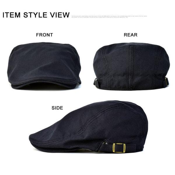 ハンチング メンズ 千鳥ハウンドトゥース柄 クラシカル ハンチング帽 帽子 標準サイズ ビッグサイズ 2種類 Z4D【パケ2】|flagon|03