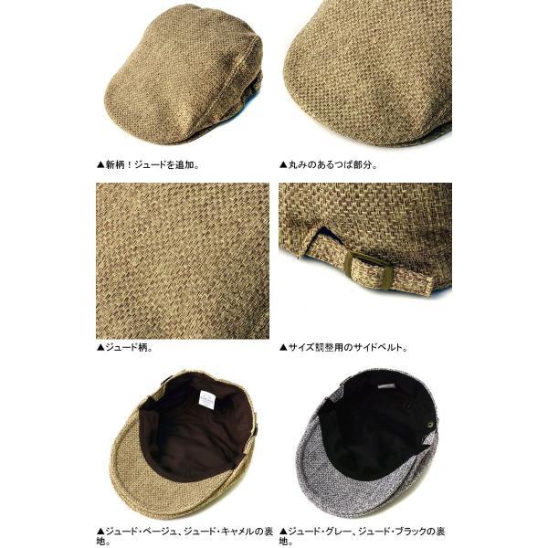 ハンチング メンズ 千鳥ハウンドトゥース柄 クラシカル ハンチング帽 帽子 標準サイズ ビッグサイズ 2種類 Z4D【パケ2】|flagon|05