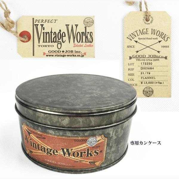 ヴィンテージワークス DH5684 ハンドメイド 5ホール レザーベルト ビンテージワークス Vintage Works Lot. DH5684|flamingosapporo|06