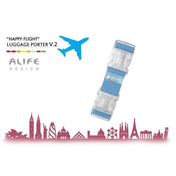 ALIFE Happy Flight LUGGAGE PORTER V.2(ハッピーフライト ラゲージポーター)/アリフデザイン/メール便無料/在庫有|flaner-y|03
