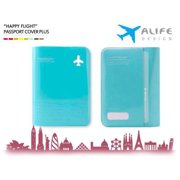 ALIFE Happy Flight PASSPORT COVER PLUS(ハッピーフライト パスポートカバープラス)/アリフデザイン/メール便無料/在庫有|flaner-y|02