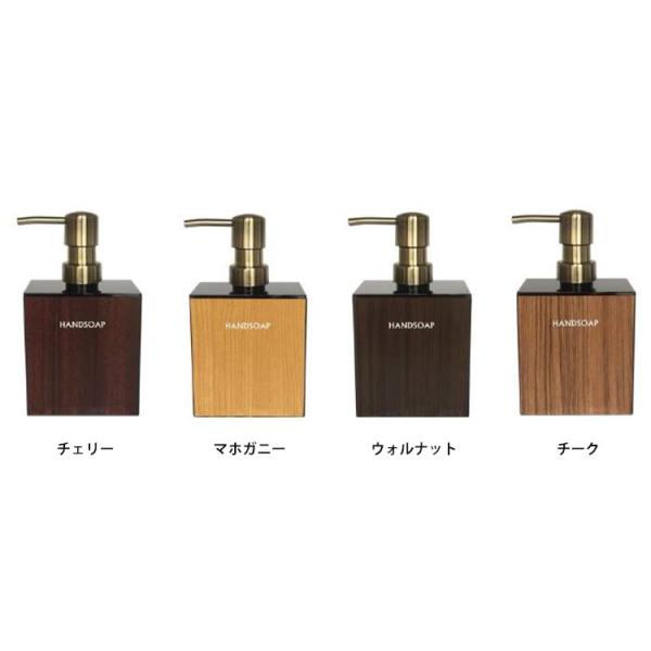 WOODY ウッディ ブラック角型 泡ハンドソープボトル400ml/Handsoap Bottle(CORE)/在庫有|flaner-y|03