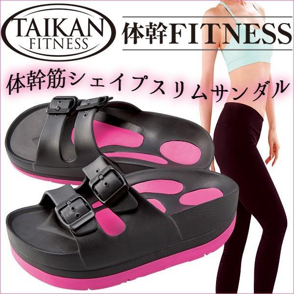 体幹フィットネス 体幹筋シェイプスリムサンダル TAIKAN FITNESS(Plan)/在庫有|flaner-y