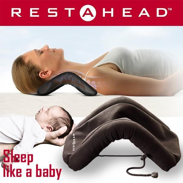 RESTAHEAD レスタヘッド ネックピロー 新しいカタチのネックレスト(TRS)/在庫有|flaner-y