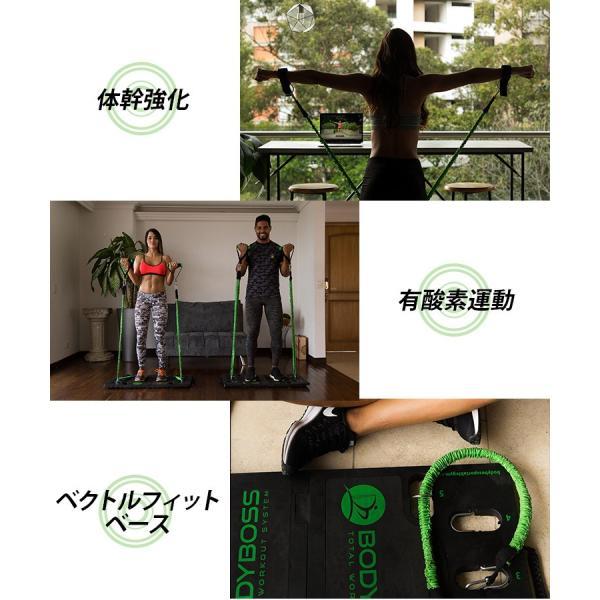 正規販売店 BODY BOSS 2,0 専用バンド 2本セット ボディボス ポータブル フィットネスジム(GROW)/在庫有|flaner-y|05