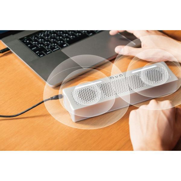 正規販売店 JDSound 映画館のような音質 動画視聴に最適 USB ポータブルスピーカー OVO オボ(JDS)/在庫有(35)|flaner-y|10