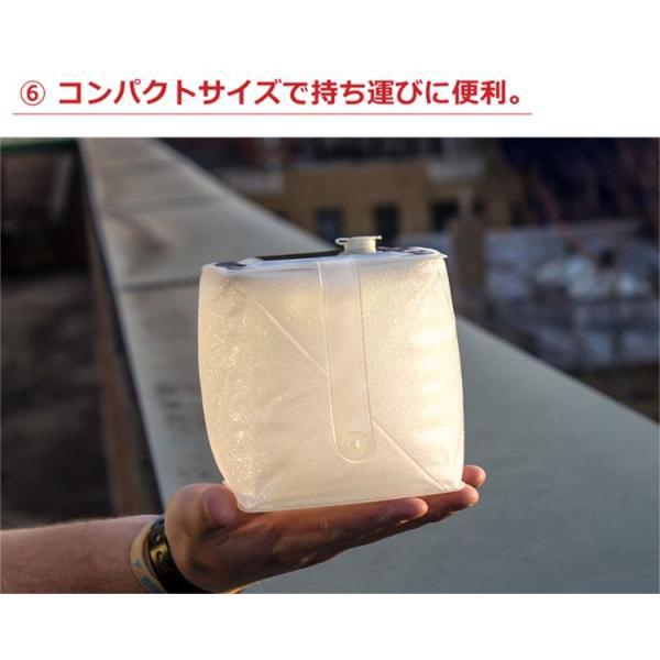 正規販売店 LuminAID Firefly ルミンエイド ファイアフライ ソーラー充電式 LED ランタン(PRES)/メール便無料/海外×/在庫有|flaner-y|10