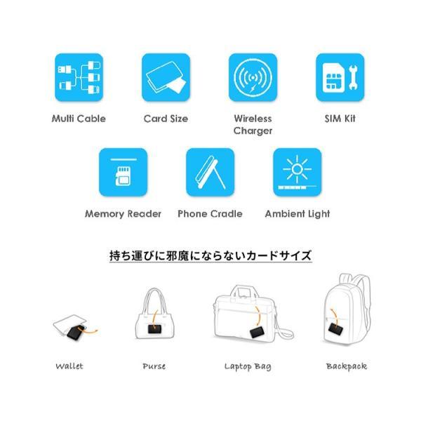 正規販売店 kable CARD ケーブルカード 6種の充電ケーブルやSIM収納などカードサイズに12の機能(ACS)/メール便無料/在庫有(1)|flaner-y|03