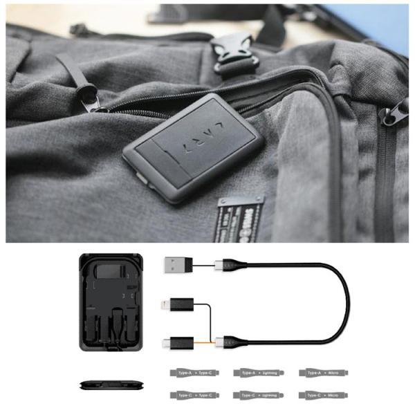 正規販売店 kable CARD ケーブルカード 6種の充電ケーブルやSIM収納などカードサイズに12の機能(ACS)/メール便無料/在庫有(1)|flaner-y|04
