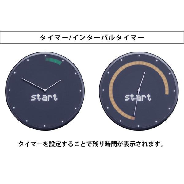 Glance Clock グランス クロック 壁掛け時計(BLA)/海外×/一部在庫有|flaner-y|06