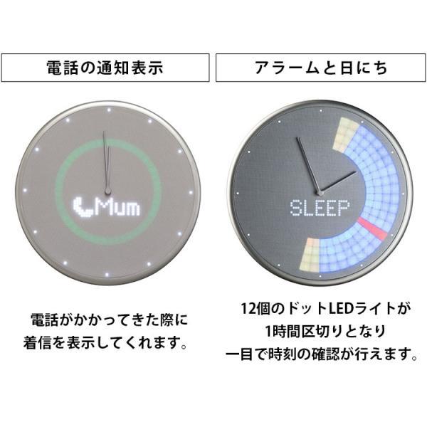 Glance Clock グランス クロック 壁掛け時計(BLA)/海外×/一部在庫有|flaner-y|07