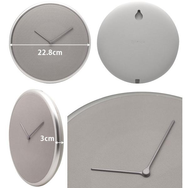 Glance Clock グランス クロック 壁掛け時計(BLA)/海外×/一部在庫有|flaner-y|10