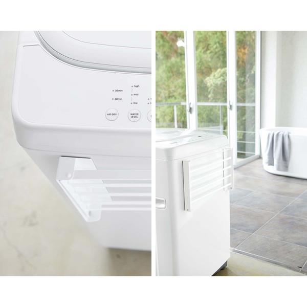 洗濯機横 マグネット 折り畳み棚 タワー Magnetbat Folding Rack Tower/山崎実業株式会社/海外×/在庫有|flaner-y|08