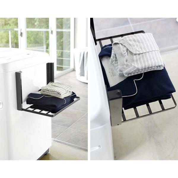 洗濯機横 マグネット 折り畳み棚 タワー Magnetbat Folding Rack Tower/山崎実業株式会社/海外×/在庫有|flaner-y|09