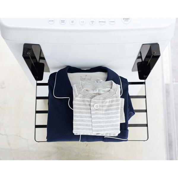 洗濯機横 マグネット 折り畳み棚 タワー Magnetbat Folding Rack Tower/山崎実業株式会社/海外×/在庫有|flaner-y|10