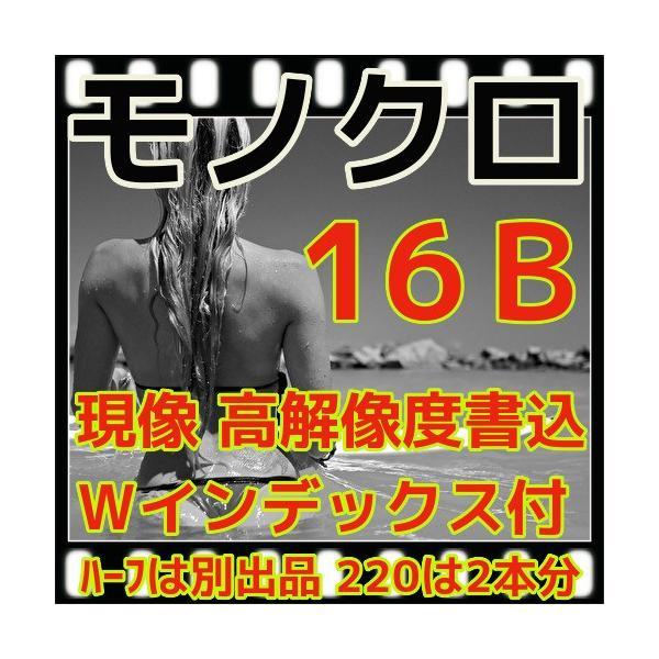 モノクロフィルム現像 + CD書込(16B)+Wインデックス