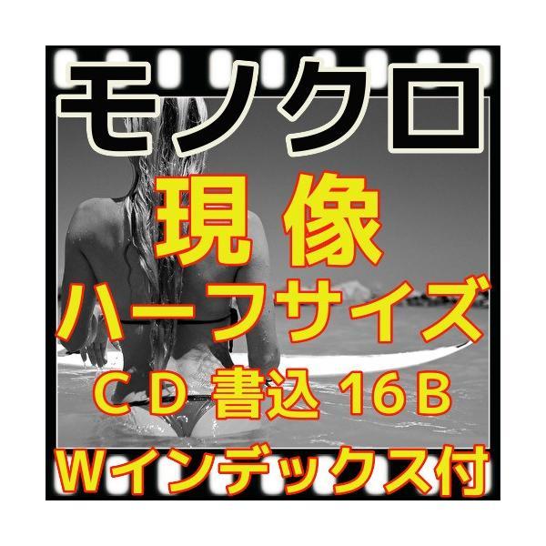 ハーフ・モノクロフィルム現像+プリントL版各1枚+CD書込(高解像度16Bでデータ化