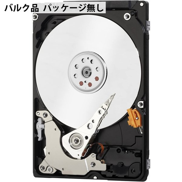 2TB 内蔵型ハードディスク 2.5インチ Western Digital WD Blue HDD SATA 6Gbps 128MB 5400rpm 7mm厚 2.0TB バルク WD20SPZX ◆宅