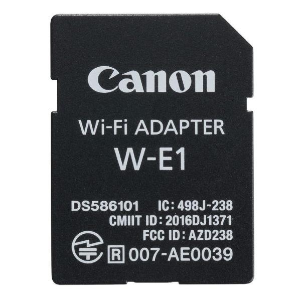 Wi-Fiアダプタ for EOS 5Ds / EOS 5Ds R / EOS 7D Mark II CANON キヤノン SDカードスロット用 無線通信カード スマホアプリ/PCソフト連携 並行輸入品 W-E1 ◆宅