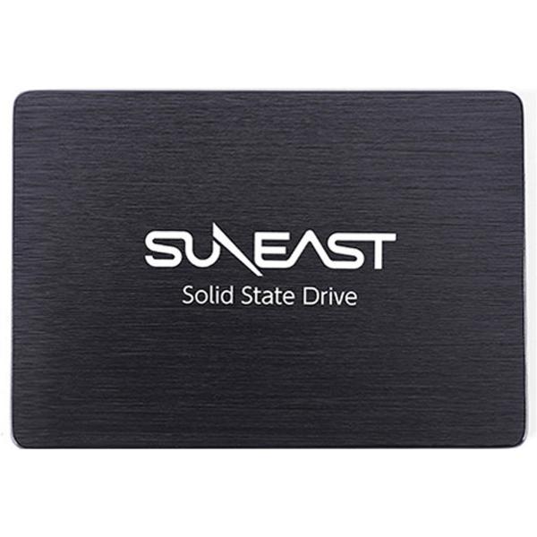 SSD 内蔵型 SUNEAST サンイースト TLC 2.5インチ 7mm厚 SATA3 6Gb/s R:530MB/s W:430MB/s 簡易包装 SE800-128GB ◆メ