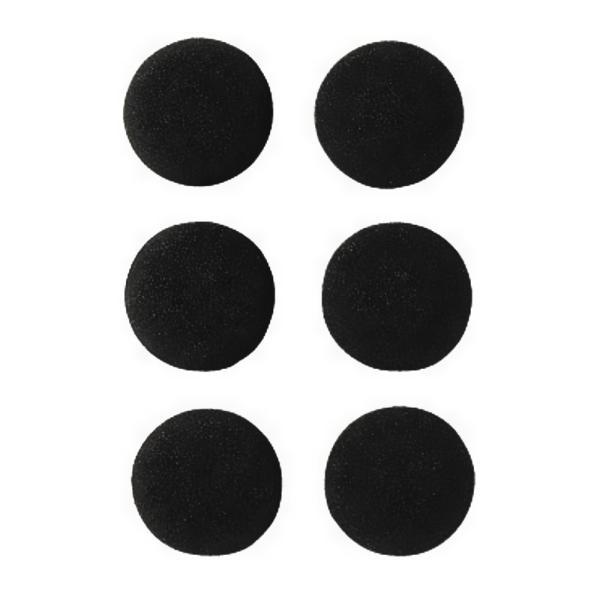 【耳にやさしいやわらかいパッドで長時間のイヤホン使用の際にも最適】YAZAWA ヤザワ ELPイヤーパッド ブラック TYP1 ◆メ flashmemory