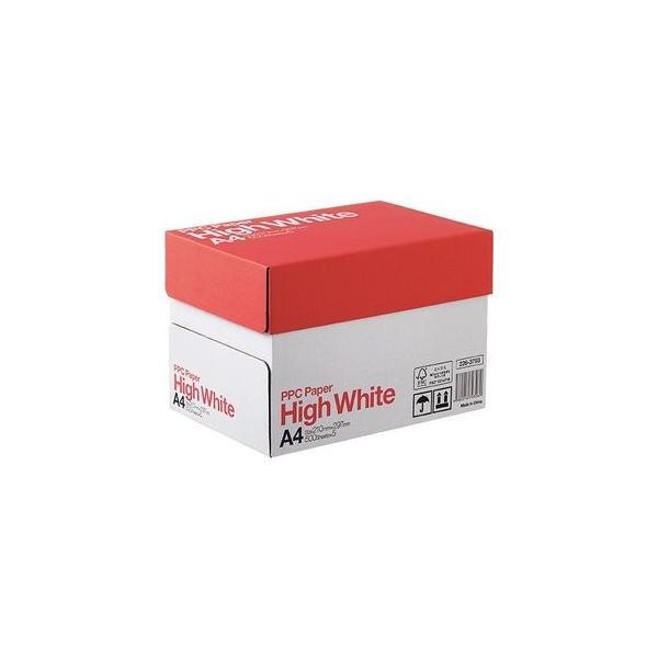 *受発注* PPC PAPER High White A4 1箱(2500枚:500枚×5冊)