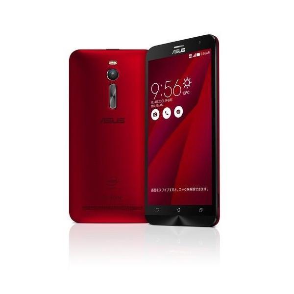 ASUSTek ZenFone2 ( SIMフリー / Android5.0 / 5.5型ワイド / デュアルmicroSIM / LTE ) (レッド, 2GB/32GB) ZE551ML-RD32