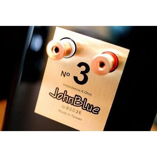 オーディオスピーカー JohnBlue ジョンブルー JB3 高品位ピアノ塗装仕上げ。 (ピアノホワイト)