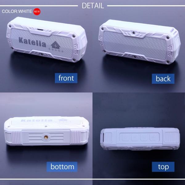 スピーカー bluetooth ブルートゥース 10W出力 防水 防塵 高音質 重低音 スマート ワイヤレス iphone 小型 ウォークマン スマホ  1年保障付|flavor9|13