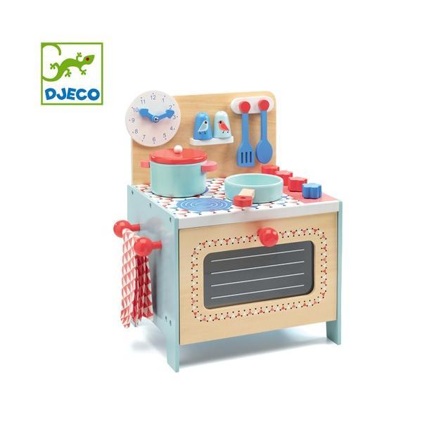 正規品 DJECO(ジェコ) ブルークッカー おままごと キッチン
