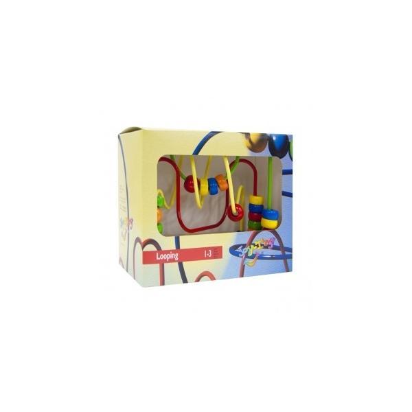 正規品 木のおもちゃ ボーネルンド ルーピング ウーギー 吸盤つき flclover 03