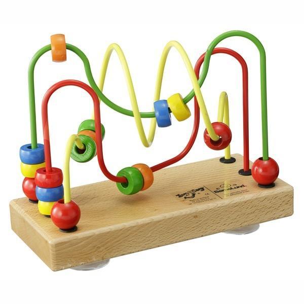 正規品 木のおもちゃ ボーネルンド ルーピング ウーギー 吸盤つき flclover 04