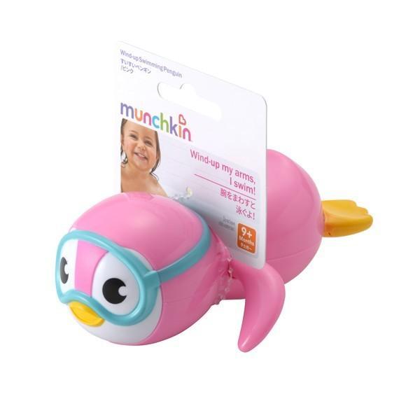 正規品 munchkin(マンチキン) すいすいペンギン 水遊び お風呂遊び お風呂おもちゃ|flclover|04
