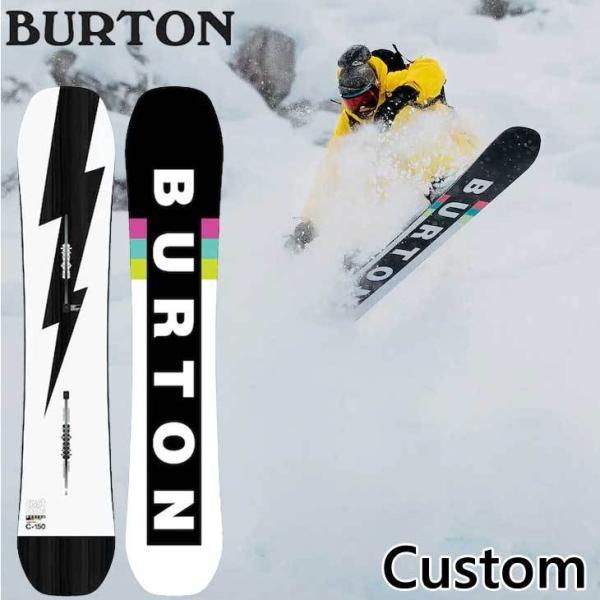 20-21 BURTON バートン スノーボード 板  Custom カスタム キャンバー  ship1【返品種別OUTLET】